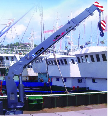 CQS100A船用随车起重机