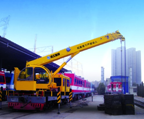 TSQ2SK2Q(J型)  铁路随车起重机