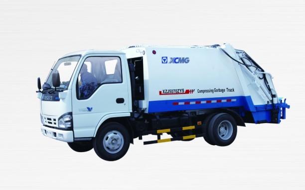 XZJ5070ZYS压缩式垃圾车