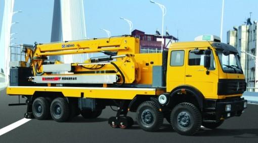 XZJ5290JQJ臂架式桥梁检测车