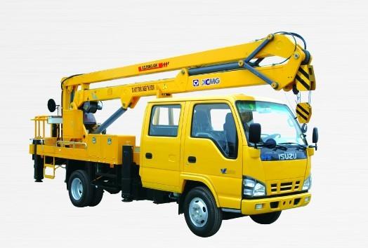 XZJ5063JGK 折叠臂高空作业车