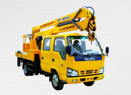 XZJ5067JGK 折叠臂高空作业车