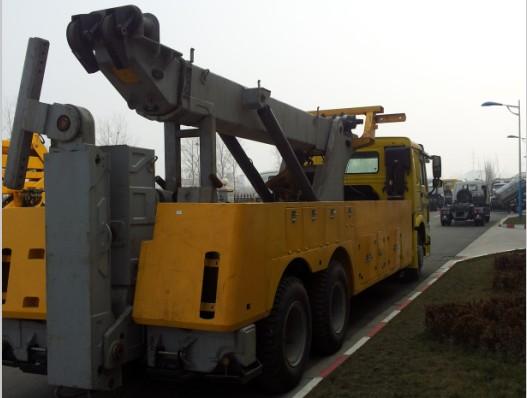XZJ5250TQZZFZ 吊托分离型清障车