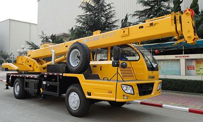 QY12T(油田型)汽车起重机