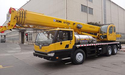 QY25KQ(天然气型) 汽车起重机