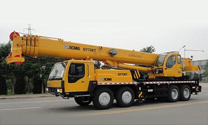 QY70KT(油田型)汽车起重机