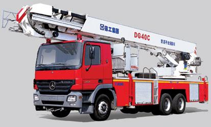DG40C 登高平台消防车