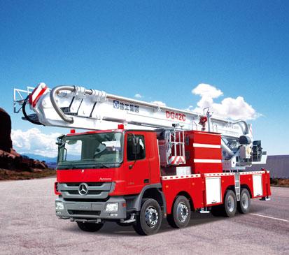 DG42C 登高平台消防车