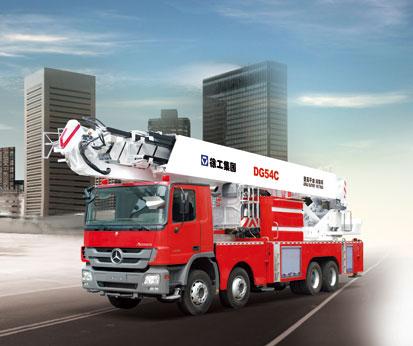 DG54C 登高平台消防车
