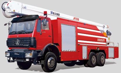 JP25B 举高喷射消防车