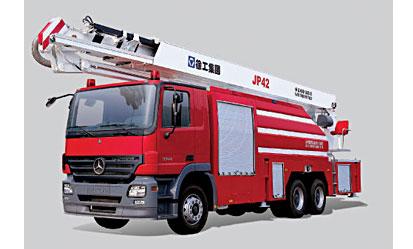 JP42 举高喷射消防车