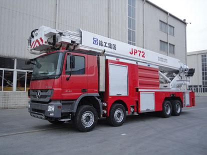 JP72 举高喷射消防车