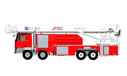 JP80 举高喷射消防车