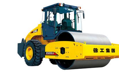 XS202J 机械驱动单钢轮振动压路机
