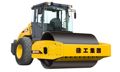 XS142 液压驱动单钢轮振动压路机