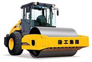 XS202E 液压驱动单钢轮振动压路机